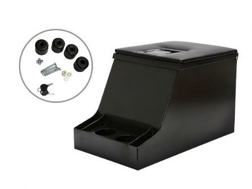 Cubby Box with lockable security lid suitable for Defenders
